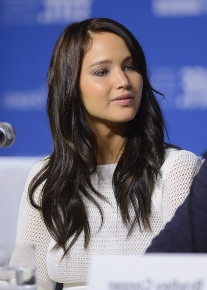 Jennifer Lawrence Long Wavy Cut | Can You Hair Me Now?! | Jennifer within Jennifer Lawrence Long Hairstyles