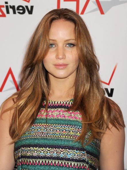 Jennifer Lawrence Long Wavy Cut - Jennifer Lawrence Long Hairstyles with regard to Jennifer Lawrence Long Hairstyles