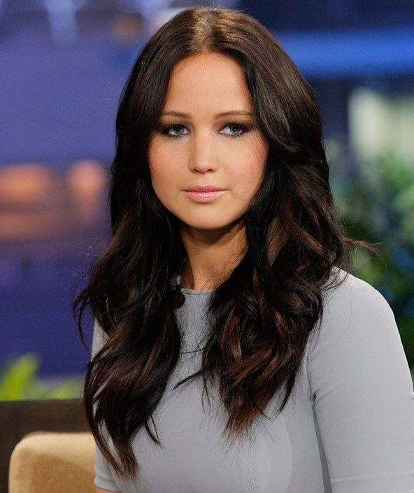 Jennifer Lawrence Long Wavy Hairstyles | Lovely Hair | Jennifer within Jennifer Lawrence Long Hairstyles