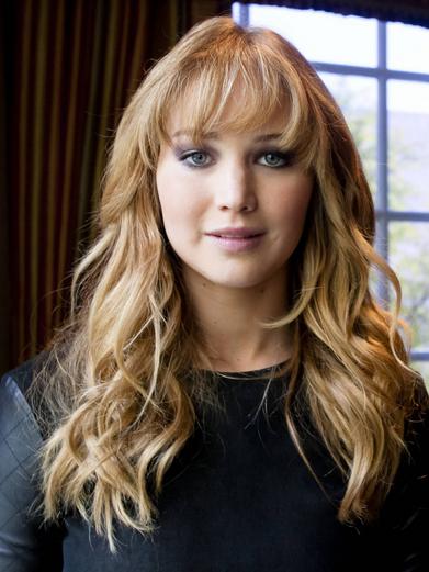 Jennifer Lawrence With Long Wavy Sexy Celebrity Newest Hairstyle with Jennifer Lawrence Long Hairstyles