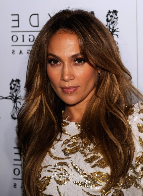 Jennifer Lopez Long Hairstyle With Layers - Hairstyles Weekly pertaining to Long Layered Hairstyles Jennifer Lopez