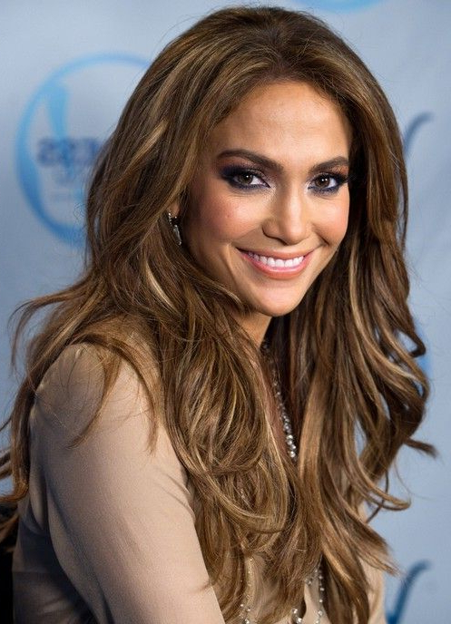 Jennifer Lopez Long Hairstyles: Layered Hairstyle In 2019 | Hair2 Inside Long Hairstyles Jennifer Lopez (View 4 of 25)