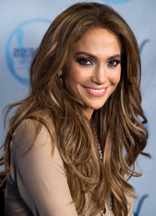 Jennifer Lopez Long Hairstyles: Layered Hairstyle – Popular Haircuts Within Long Layered Hairstyles Jennifer Lopez (View 5 of 25)