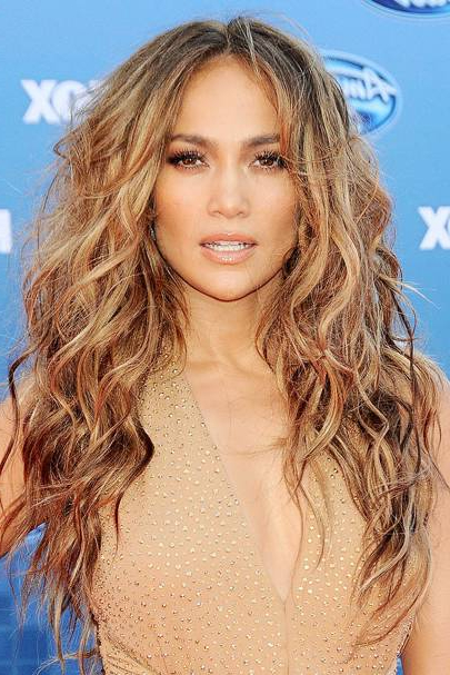Jennifer Lopez: Look Book - Celebrity Hair And Hairstyles | Glamour Uk in Long Hairstyles Jennifer Lopez