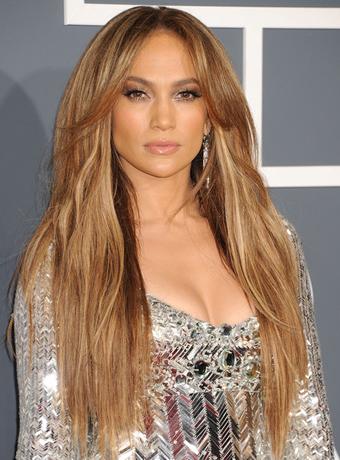 Jennifer Lopez's Long Layered Hairstyle throughout Long Layered Hairstyles Jennifer Lopez