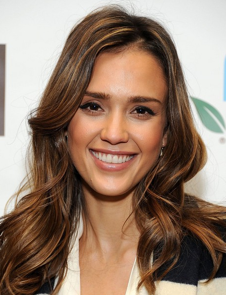 Jessica Alba Hairstyles: Glam Hairstyle For Long Hair - Popular Haircuts intended for Long Hairstyles Jessica Alba