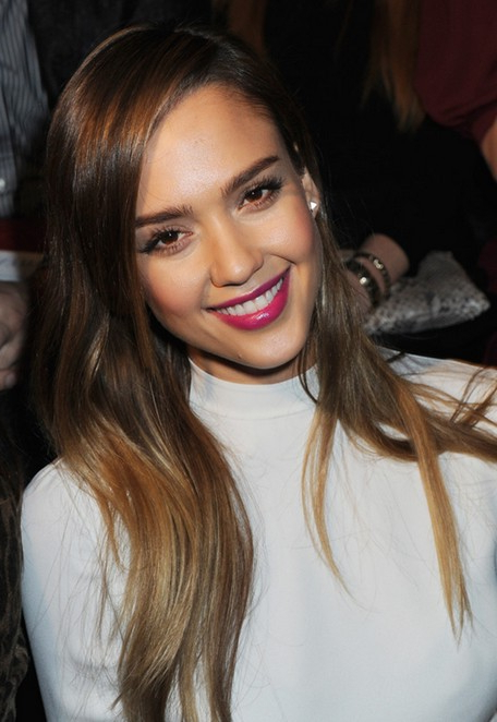 Jessica Alba Hairstyles: Straight Hairstyles For Long Hair - Popular regarding Long Hairstyles Jessica Alba