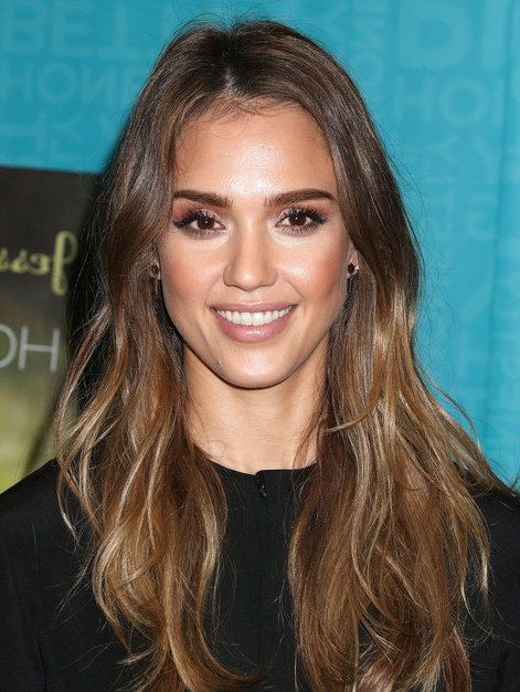 Jessica Alba Long Hairstyles: Straight Hair – Popular Haircuts Pertaining To Jessica Alba Long Hairstyles (View 2 of 25)