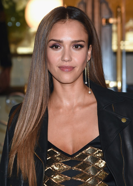 Jessica Alba Long Straight Cut - Jessica Alba Long Hairstyles Looks inside Jessica Alba Long Hairstyles