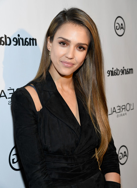Jessica Alba Long Straight Cut – Jessica Alba Long Hairstyles Looks Throughout Long Hairstyles Jessica Alba (View 25 of 25)