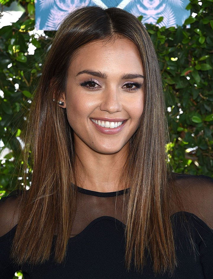 Jessica Alba's Best Hairstyles And Hair Colour Inspiration | Instyle regarding Jessica Alba Long Hairstyles