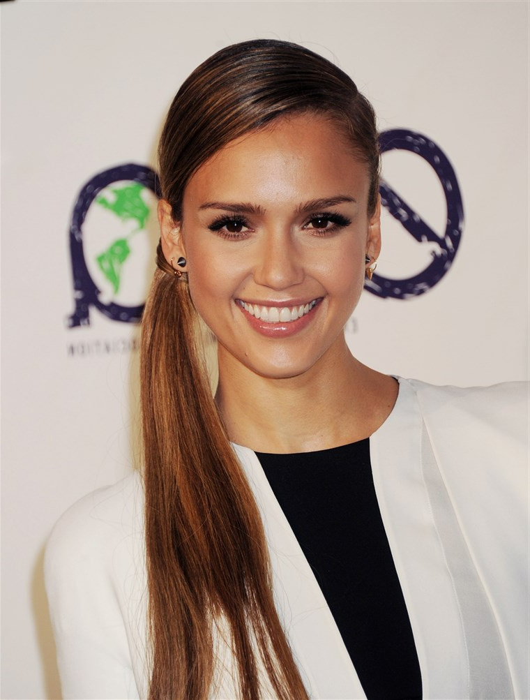 Jessica Alba's Hairstyles Through The Years In Jessica Alba Long Hairstyles (View 25 of 25)