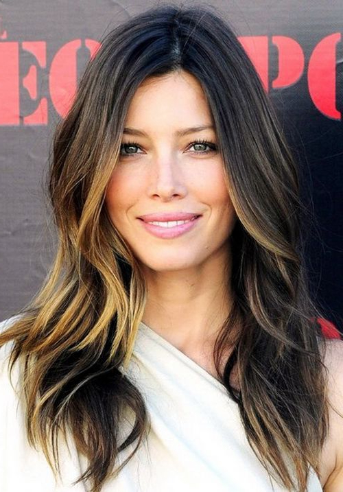 Jessica Biel's Boho Chic Long Hairstyles With Layers 2014 With In Chic Long Hairstyles (View 3 of 25)