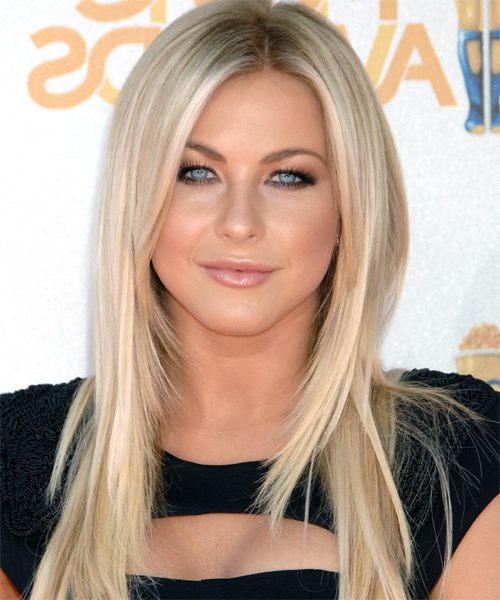Julianne Hough Formal Long Straight Hairstyle within Julianne Hough Long Hairstyles
