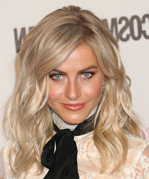 Julianne Hough Formal Long Wavy Hairstyle With Side Swept Bangs with regard to Julianne Hough Long Hairstyles