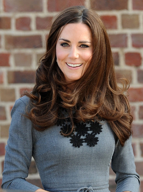 Kate Middleton Long Layered Hairstyles | Full Dose Throughout Long Hairstyles Kate Middleton (View 21 of 25)