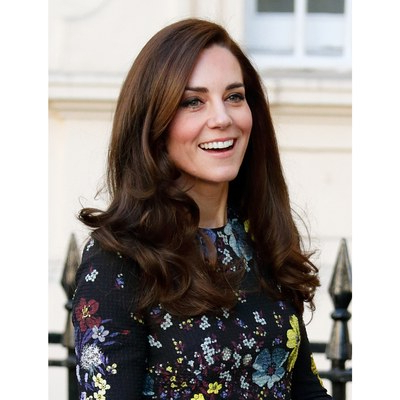 Kate Middleton's 18 Best Hairstyles Ever | Allure With Regard To Long Hairstyles Kate Middleton (View 12 of 25)