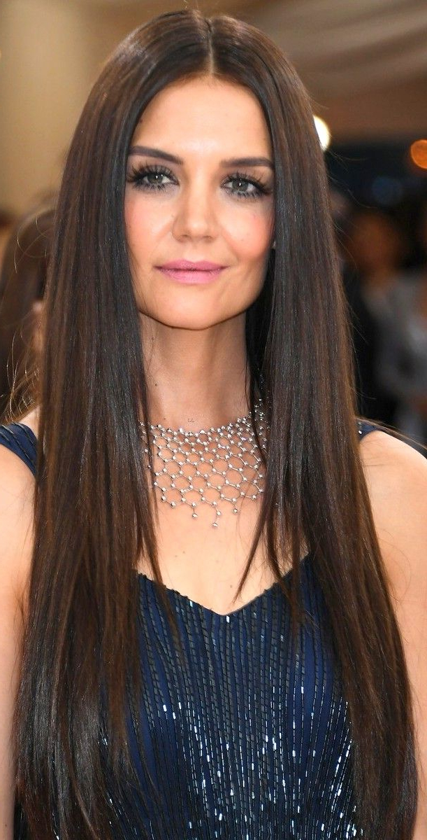 Featured Photo of Katie Holmes Long Hairstyles