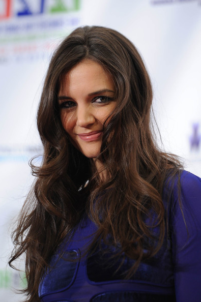 Katie Holmes Long Curls – Katie Holmes Long Hairstyles Looks Intended For Katie Holmes Long Hairstyles (View 24 of 25)