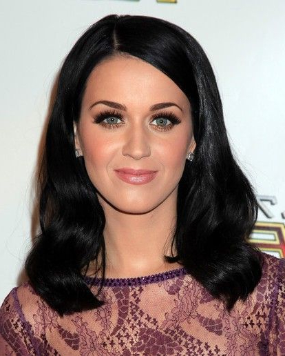 Katy Perry Medium Length Wavy Hair Styles For Black Hair | If I Had Intended For Katy Perry Long Hairstyles (View 22 of 25)