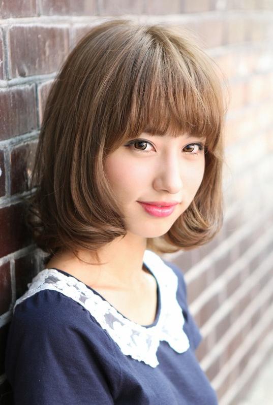 Kawaii Japanese Bob Hairstyle With Bangs – Hairstyles Weekly For Long Kawaii Hairstyles (View 13 of 25)
