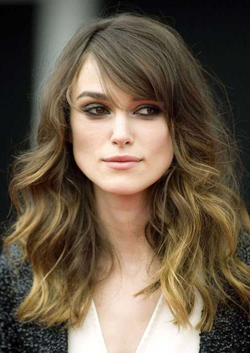Keira Knightley Haircuts For Thick Wavy Hair | Hair | Haircuts For With Regard To Long Haircuts For Thick Wavy Hair (View 9 of 25)