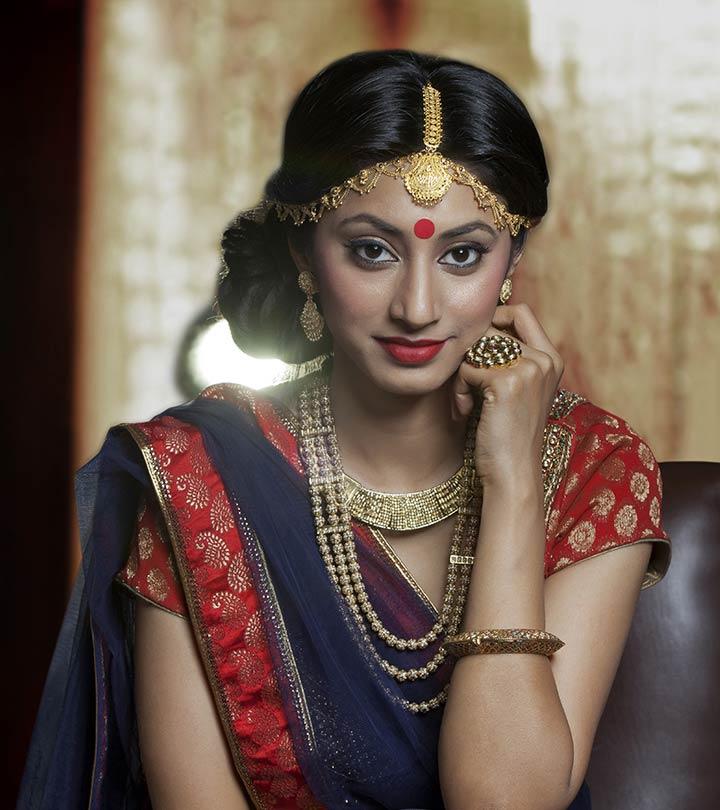Kerala Bridal Makeup Tutorial With Long Hairstyles In Kerala (View 15 of 25)