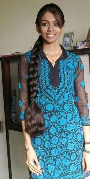 Kerala Long Hair Girl With Thick Braid | Long Hair | Long Hair Regarding Long Hairstyles In Kerala (View 17 of 25)