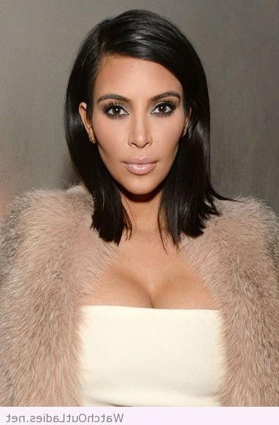 Kim Kardashian Bob Hairstyle | Bobs | Hair Styles, Hair, Kardashian With Long Bob Hairstyles Kim Kardashian (View 6 of 25)