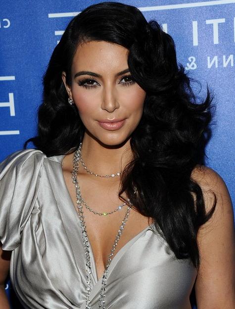 Kim Kardashian Long Hairstyles: Black Curly Hairstyle – Popular Haircuts Throughout Long Hairstyles Black Hair (View 17 of 25)