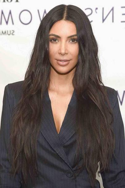 Kim Kardashian New Hair: Short Hairstyle | Glamour Uk Pertaining To Long Layered Hairstyles Kim Kardashian (View 18 of 25)
