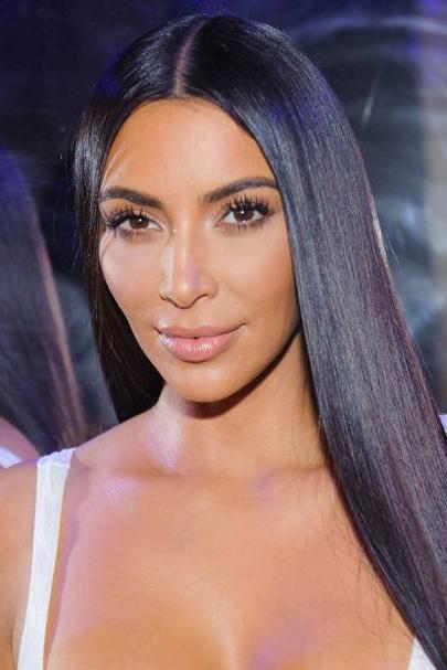Kim Kardashian New Hair: Short Hairstyle | Glamour Uk With Kim Kardashian Long Haircuts (View 16 of 25)