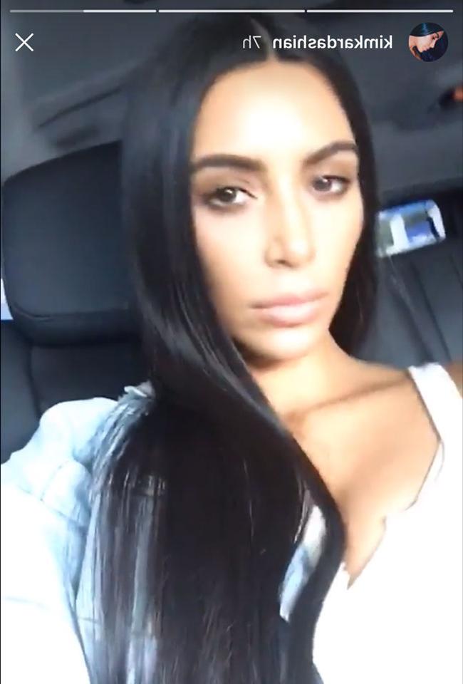 Kim Kardashian Reveals A New Ultra Long Hairstyle | Hello! Intended For Long Hairstyles Kim Kardashian (View 24 of 25)