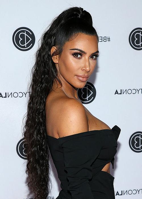 Kim Kardashian's Post Haircut Regret Is So Relatable | Beauty/crew Within Long Bob Hairstyles Kim Kardashian (View 22 of 25)