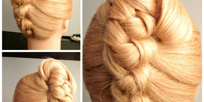 Knot French Roll , Prom Hairstyle, Wedding Hairstyle Pertaining To French Roll Prom Hairstyles (View 21 of 25)
