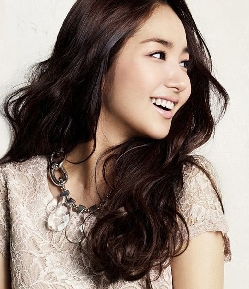 Korean Actress ??? Long Wave Hair Style | People I Admire Pertaining To Long Hairstyles Korean Actress (View 16 of 25)
