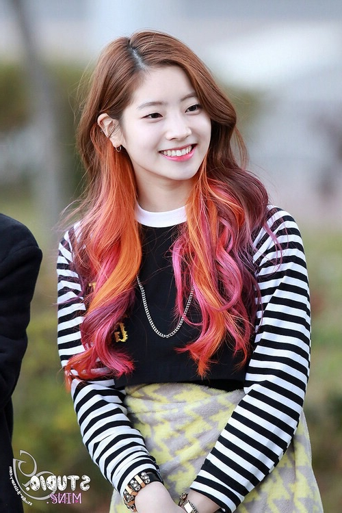 Korean Beauty Tip Tuesday: Top 10 K Pop Hairstyles To Captivate The For Korean Girl Long Hairstyles (View 20 of 25)