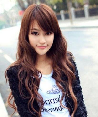 Korean Girl Long Hairstyle | The Best Korean Hairstyles For Women With Korean Long Hairstyles (View 10 of 25)