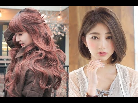Korean Hairstyles For Girls 2018 – Youtube Within Korean Girl Long Hairstyles (View 12 of 25)