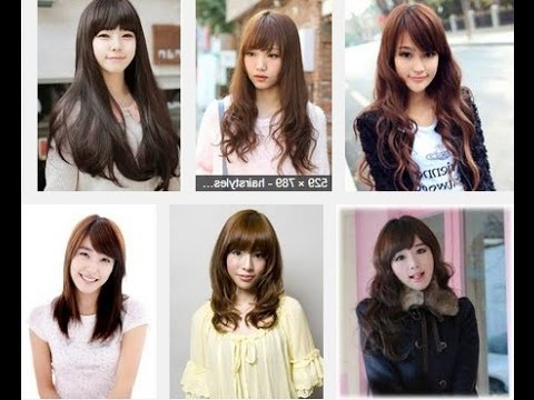 Korean Hairstyles For Long Hair – Youtube For Korean Long Hairstyles (View 16 of 25)