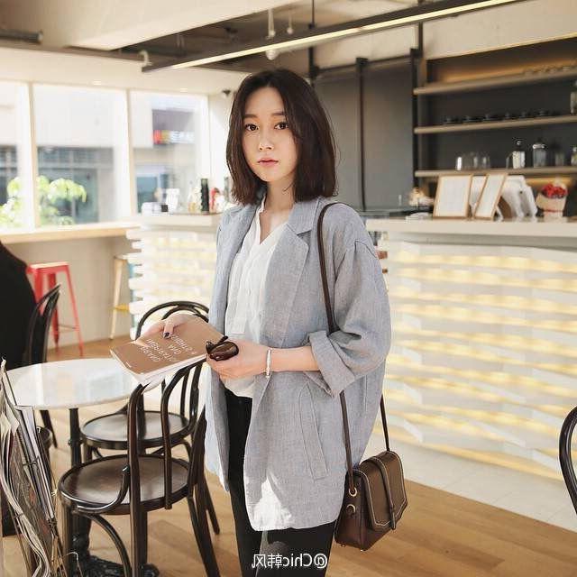 Korean Long Bob | My Kind Of Style In 2019 | Hair Cuts, Long Hair With Regard To Long Bob Hairstyles Korean (View 4 of 25)