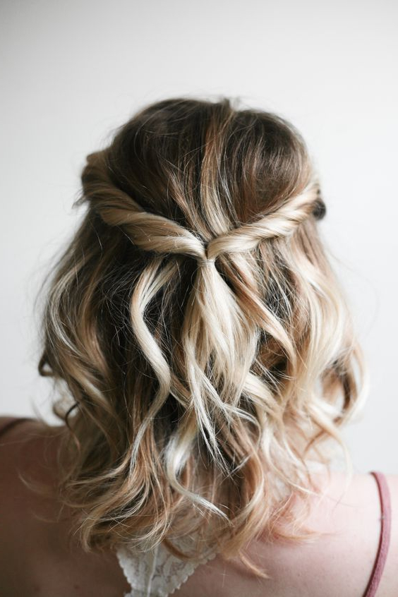 Featured Photo of Twisted Prom Hairstyles Over One Shoulder