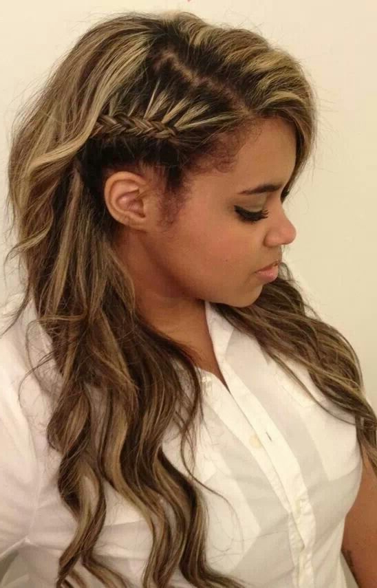 Kouturekiss: Faux Shave Side Braid | Girly Stuff | Hair Styles In Shaved Side Prom Hairstyles (View 15 of 25)