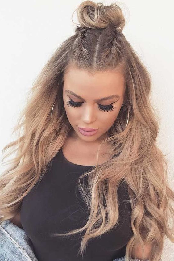 Ladies Long Hairstyles Trends Tutorial Stepstep Looks 2019 2020 Pertaining To Long Hairstyles For Girls (View 2 of 25)