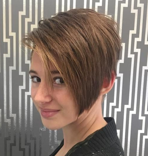 Latest 30 Short Hairstyles For Teenage Girls | Short Haircuts For For Long Haircuts For Tweens (View 15 of 25)