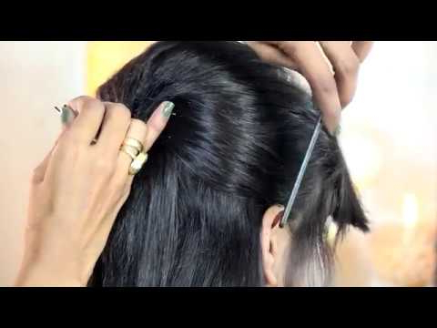 Latest Indian Traditional Hair Style   Cute Special Design With Pertaining To Indian Hair Cutting Styles For Long Hair (View 18 of 25)
