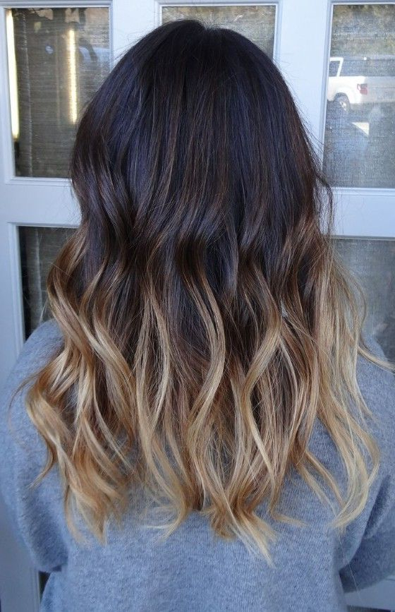 Latest Popular Dark To Brunette Ombre Hair For Medium Hair | Styles Pertaining To Layered Ombre For Long Hairstyles (View 14 of 25)