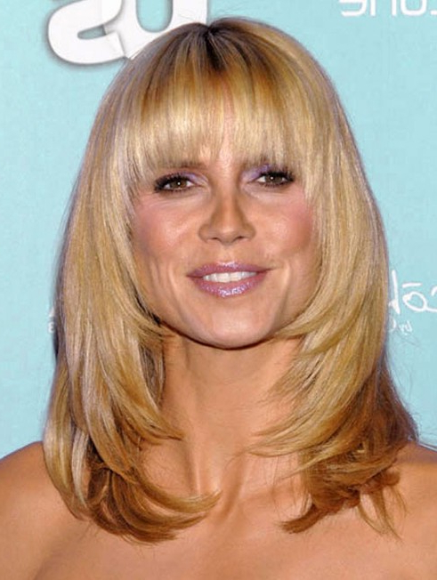 Latest Popular Hairstyles With Cool Bangs – Hairstyles Weekly With Regard To Long Length Hairstyles With Fringe (View 13 of 25)