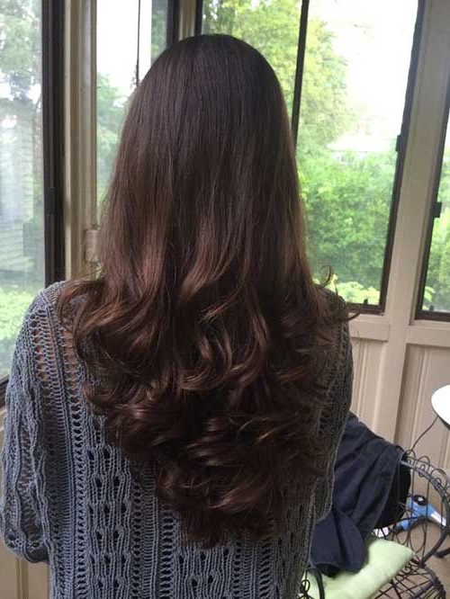 Layer Cut Hairstyle 10 Long Layered Hair Back View   Hairstyles Ideas For Long Hairstyles Front And Back View (View 20 of 25)