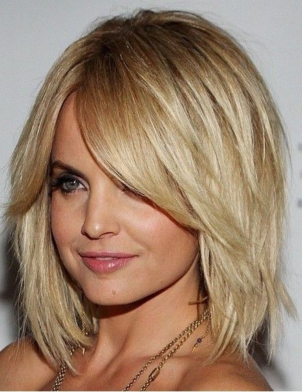 Layered Bob With Heavy Fringe | Cute Hairstyles | Hair Lengths Regarding Heavy Layered Long Hairstyles (View 10 of 25)